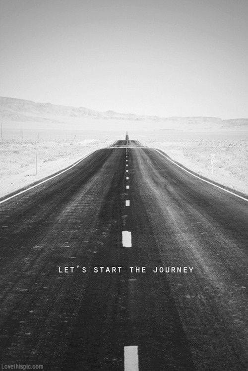 Lets start the journey