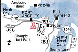 map of port angeles